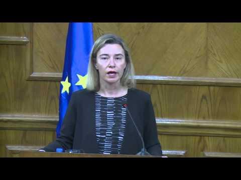 #BrusselsAttacks: EU High Representative Federica Mogherini