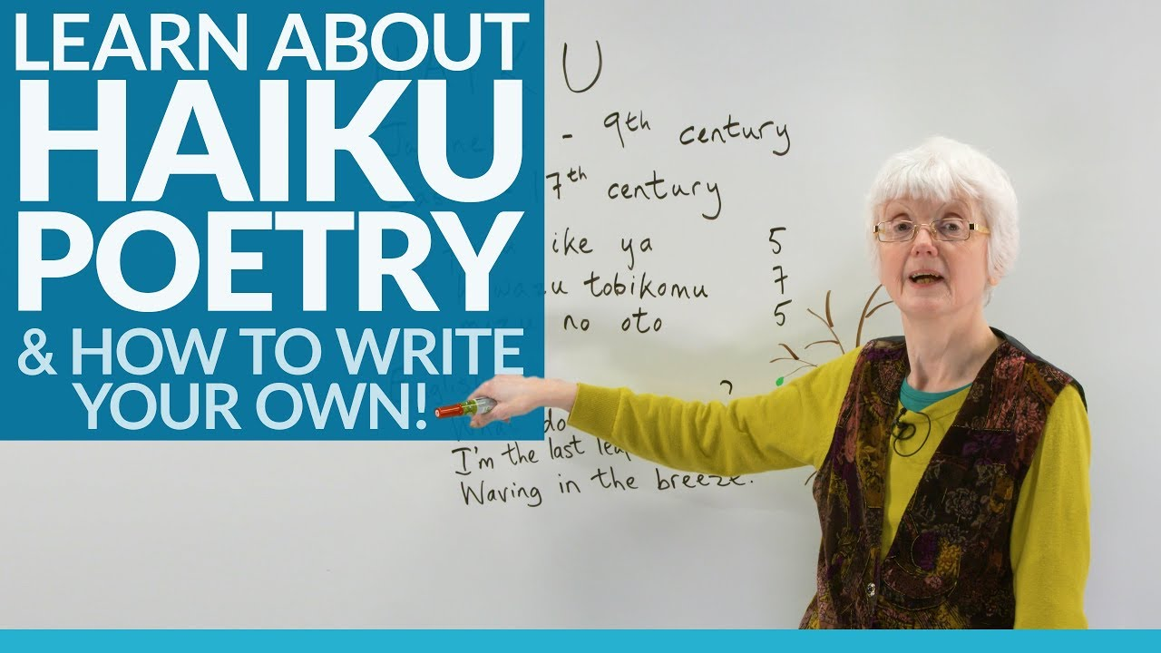 Japanese poems: how to learn to write haiku