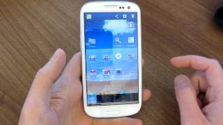 How to take a screenshot on the Samsung Galaxy S3 thumbnail