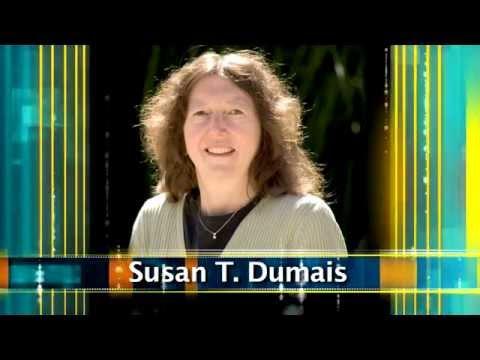 ACM Athena Award 2014-2015 - Susan T. Dumais