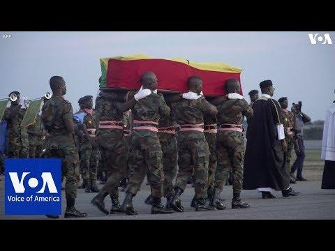 Former UN Secretary General Kofi Annan's Body Returned to Ghana