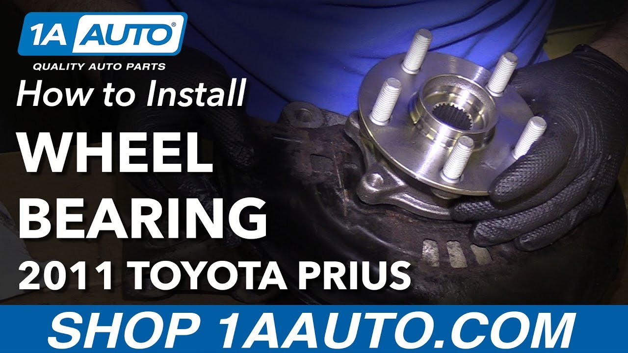 How To Install Replace Front Wheel Bearing Hub Assembly 201015. How To Install Replace Front Wheel Bearing Hub Assembly 201015 Toyota Prius. Toyota. Toyota Prius Front Wheel Hub Diagram At Scoala.co