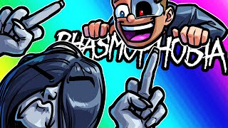Phasmophobia Funny Moments - Using Glitches to Avoid the Ghost!