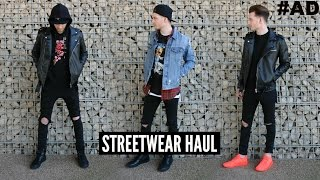 Mens Fashion Haul Spring 2018 - Streetwear LookBook