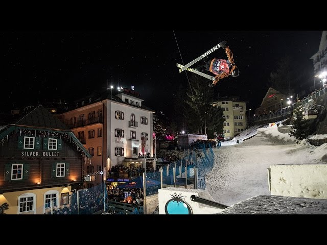 Andri Ragettli Throws Down 2nd Place Run at Red Bull Playstreets 2017