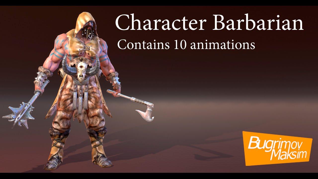 Animations Barbarian Youtube