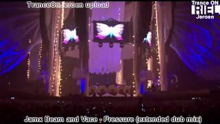 [HD] Jamx, Beam & Vace - Pressure (extended dub mix) STEREO MUSIC VIDEO support Sander van Doorn