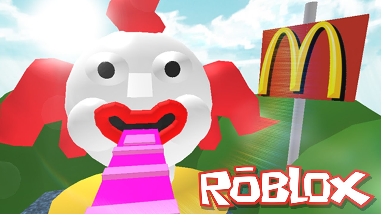 Roblox Adventures Escape Mcdonalds Obby Eaten By An