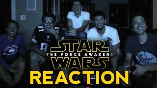 The Force Awakens (Final Trailer)  - GROUP REACTION