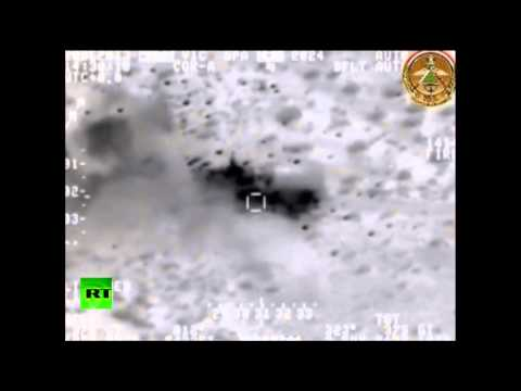 Iraq's DoD releases footage of air strikes on Al Qaeda