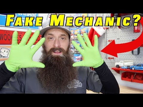 Real Mechanics Dont Wear Gloves??