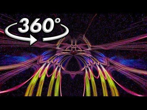 360° VR Visuals - Hallucienda - Hypnotic Space Birds (Ver 1.3)