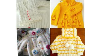Baby sweater design//baby sweater knitting pattern//hand made baby sweater //latest designs sweater.