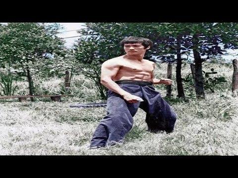 Брюс Ли-Старые Редкие Кадры