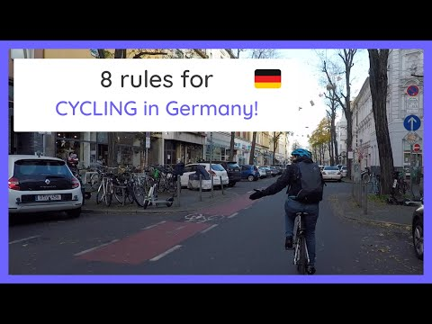 CYCLING in Germany! EVERYTHING you need to know from a local 🚲🤙🏽