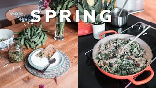 Food prep for Spring #2 daily sustainable life