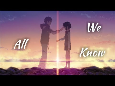 AMV--  All We Know