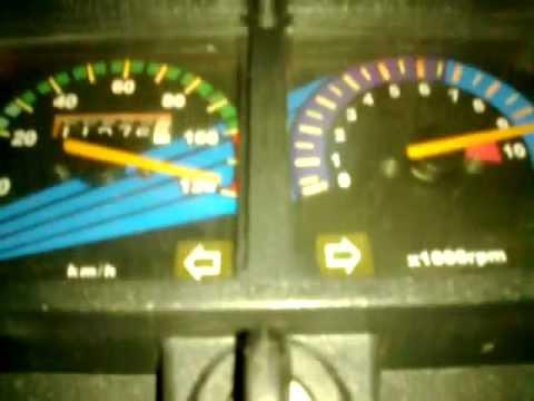My Honda CG125 on its Top Speed