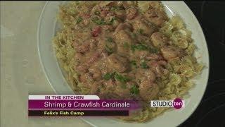 Studio 10: Shrimp And Crawfish Cardinale