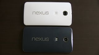 Google Nexus 6: Midnight Blue vs. Cloud White