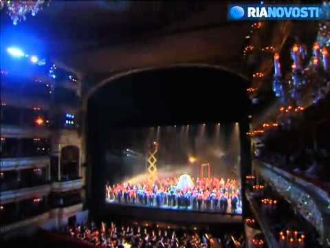 Russia  Bolshoi Theater reopening gala