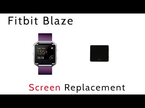 Tutorial How to Replace Repair Broken Shattered Fitbit Blaze