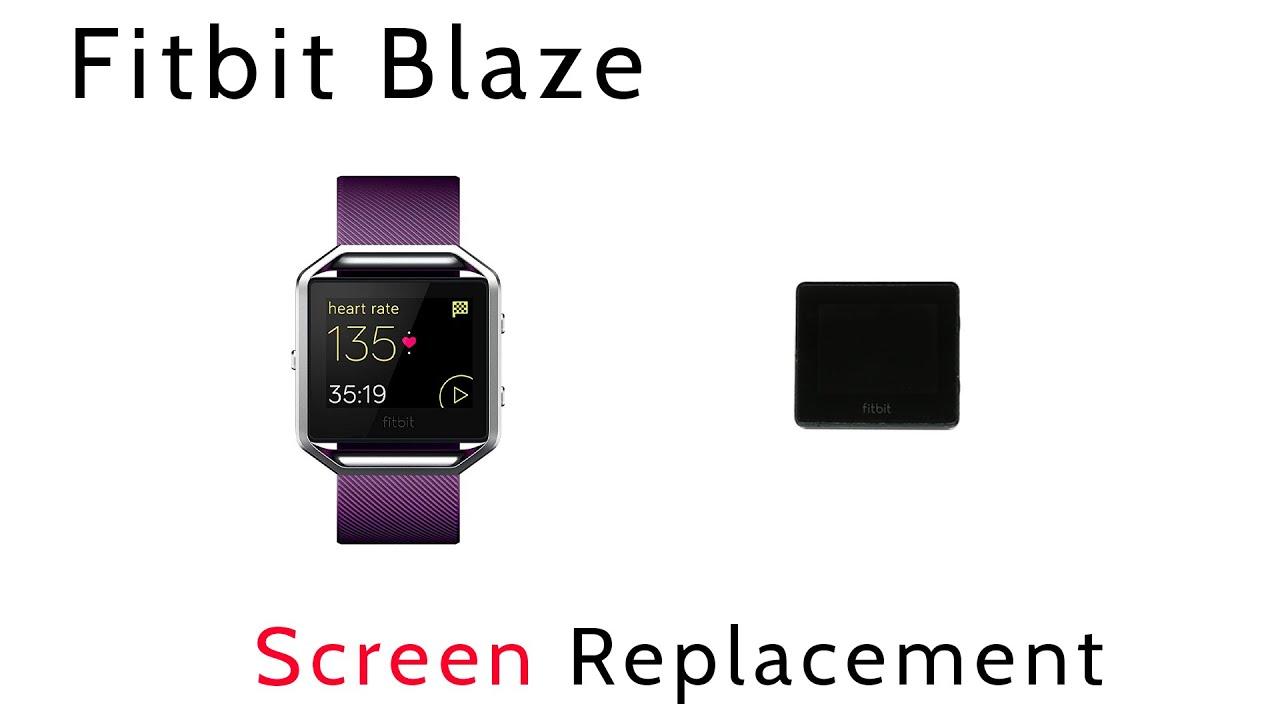 Tutorial How to Replace Repair Broken Shattered Fitbit Blaze Screen