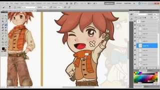 Harvest Moon Speed Drawing - Fritz
