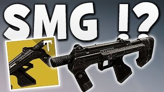 Destiny - SMG NEW WEAPON TYPE COMING ?!
