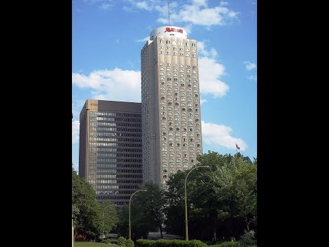 Full Hotel Tour and Review of the Marriott Chateau Champlain, Montreal, Quebec, Canada