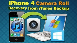iPhone JPEG Recovery: How to Recover my photos or Deleted Camera Roll(Photo and Video) from iPhone 4