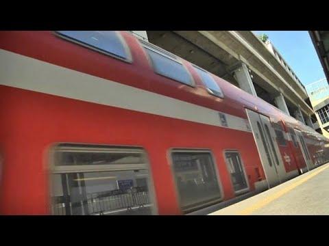 ביטול קו רכבת ישראל בין ירושלים ל נתב״ג נתבג עומס