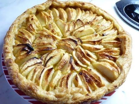 tarte-aux-pommes-a-la-pâte-feuilletée-rapide-et-économique