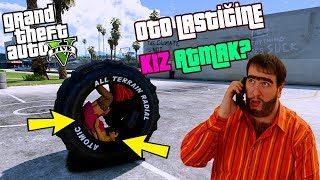 SÜRÜLEBİLİR OTO LASTİĞİNE KIZ ATMAK! - GTA 5 Modları