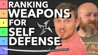 Ranking Self Defense Martial Arts Weapons | BEST WEAPON TIER LIST Icy Mike Hard2Hurt
