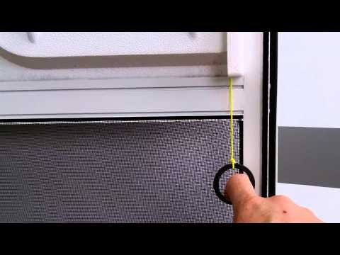 Rv Screen Door Latch Pull Cord Youtube