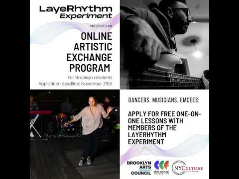 LayeRhythm Artistic Exchange 2020