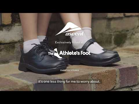 Ascent School Shoes - available exclusively at The Athlete's Foot