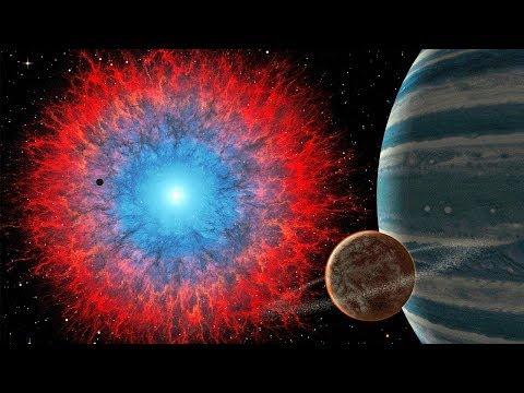 Видео о космосе, вселенная, галактики и звезды гиганты. Видео с музыкой