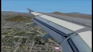 FS2004 - Full Flight from Chicago O'Hare to Las Vegas(2/2)