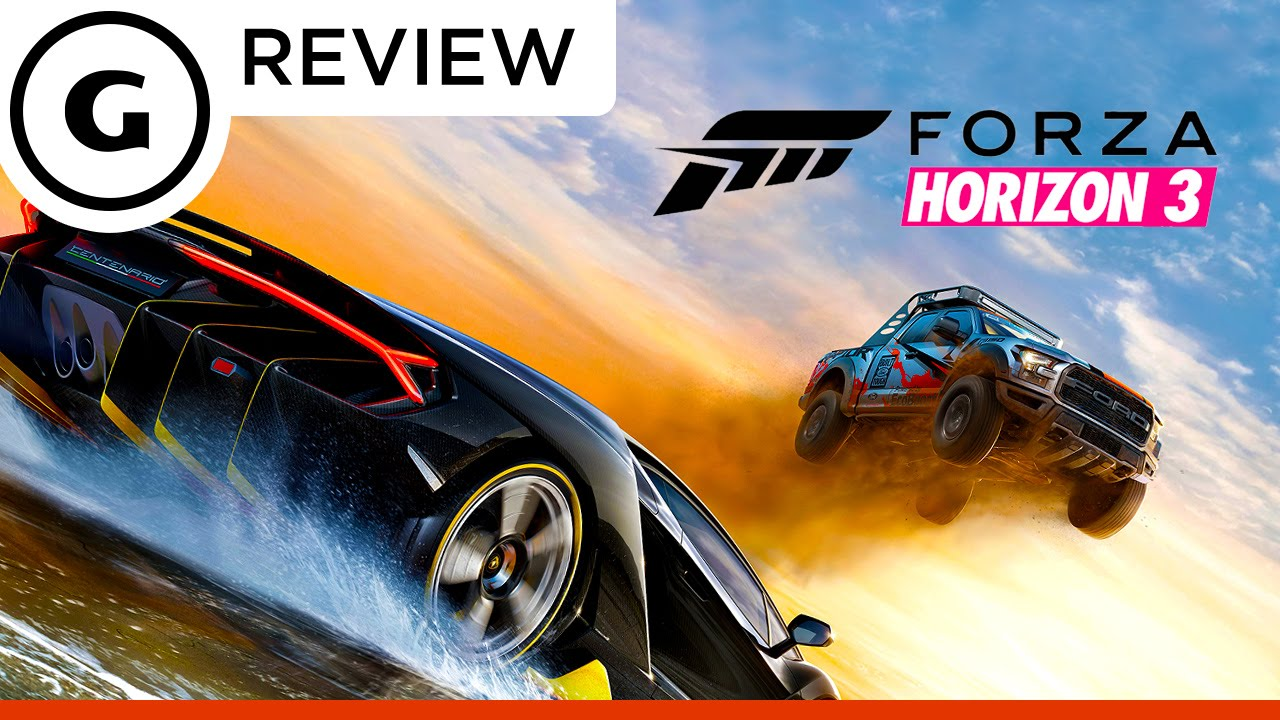 forza horizon 3 impresses reviewers with scale visuals and car custo. Black Bedroom Furniture Sets. Home Design Ideas