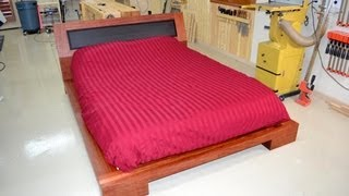 197 - Platform Bed (part 4 Of 4) - Hardware, Supports, & Finish