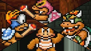 Super Mario Bros 3 - All Bosses (No Damage)