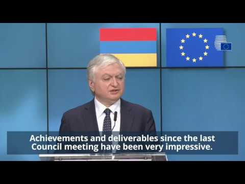 EU-Armenia Cooperation Council - Highlights