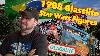 Star Wars Glasslite 1988 Action Figures
