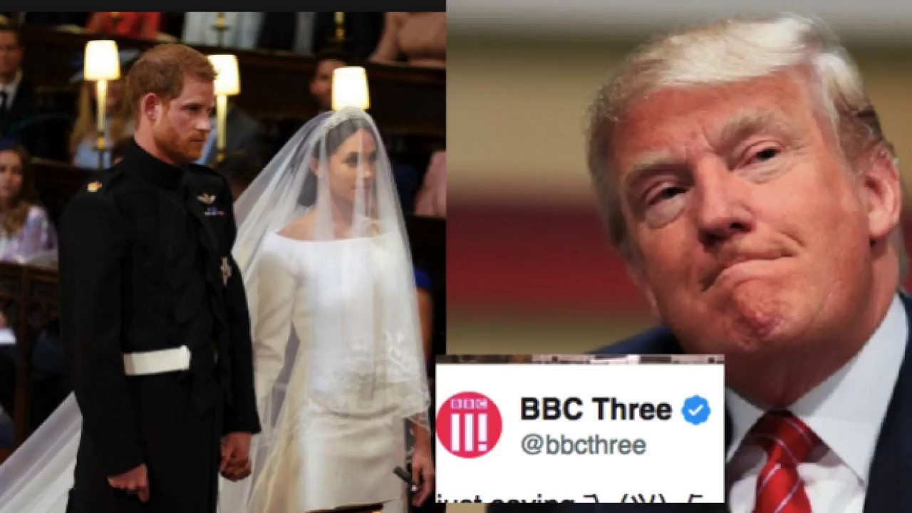 The BBC just humiliated Trump during the Royal Wedding with a brutal ...
