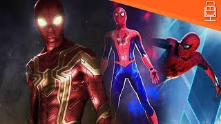 Spider-Man New Suit said to be more Adult & have BIG Changes