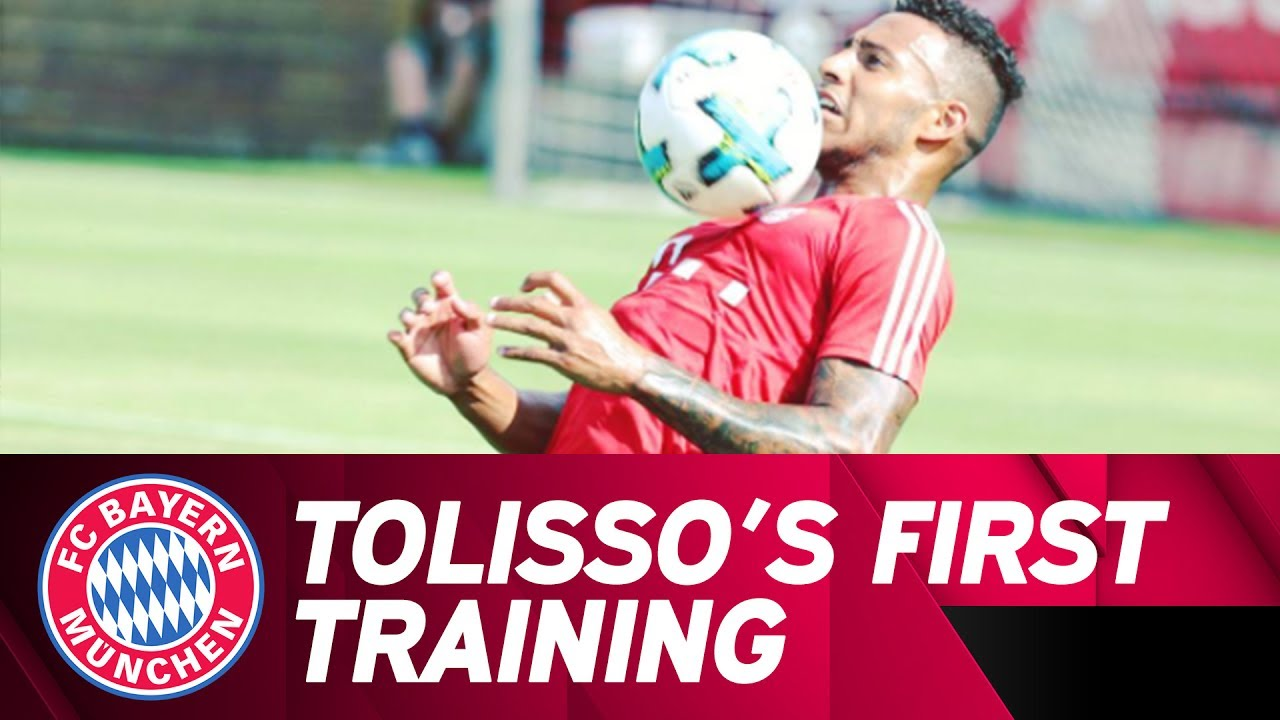 Download First Training Of New Signing Corentin Tolisso⚽   FC Bayern