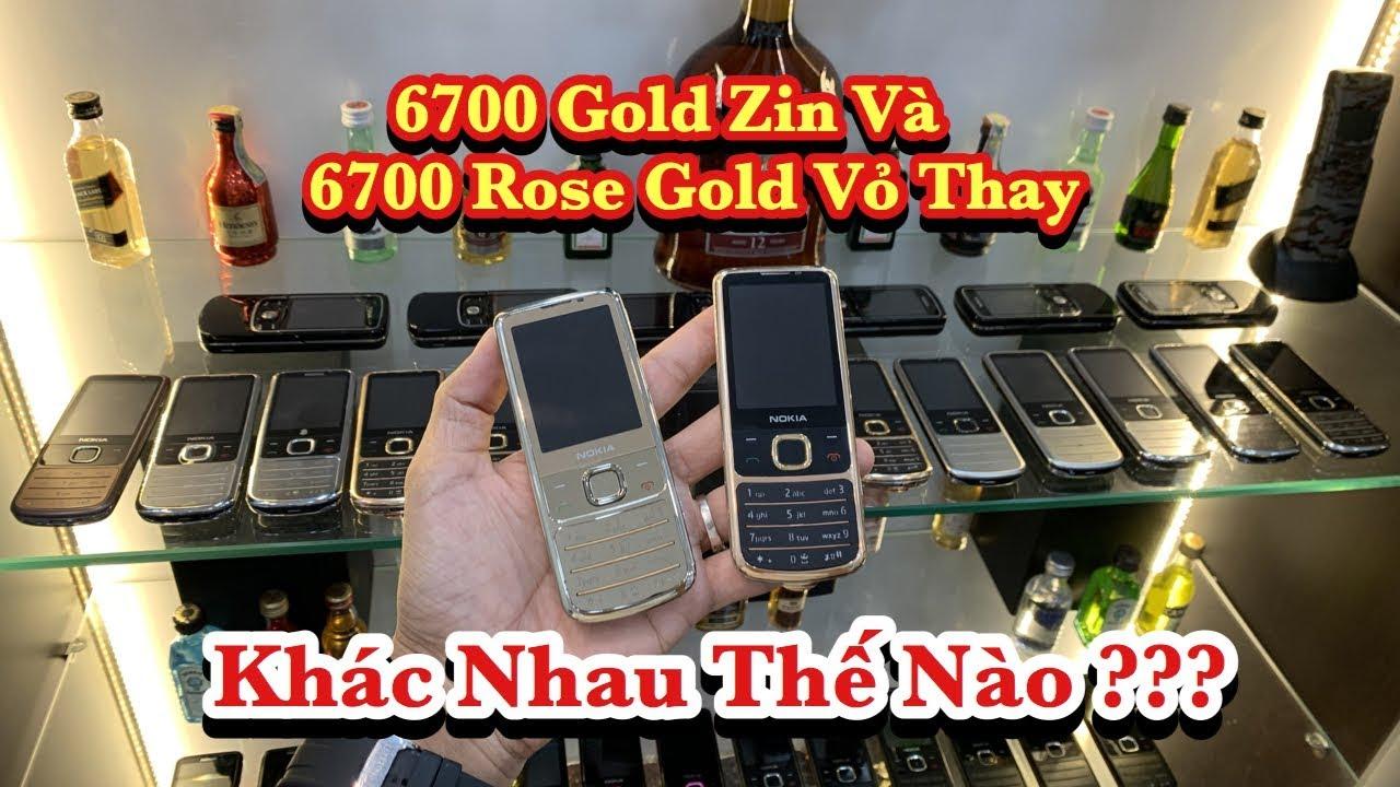 6700 Gold Vỏ Zin Khác 6700 Vỏ Rose Gold 24k Cao Cấp Như Thế Nào Và Có Phai Màu Ko ?