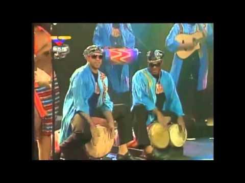 Tambor Urbano en concierto ESPECIAL DE TVES Y VTV